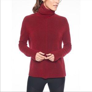 Athleta Transit Turtleneck Pullover Sweater Sz XS